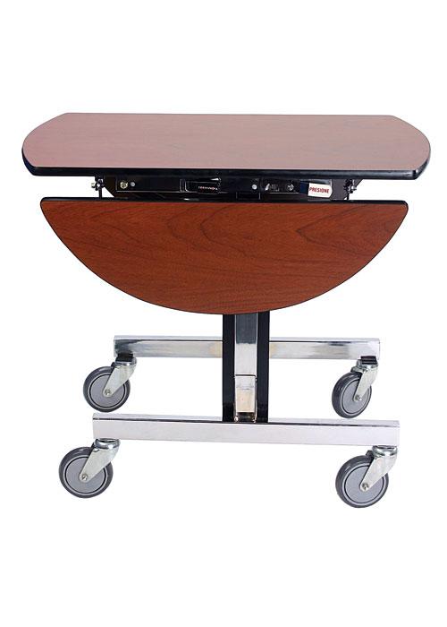 Mesa room service hotel y convenciones accesorios - Mesas con ruedas de carro ...